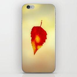 Autumn Leaf iPhone Skin