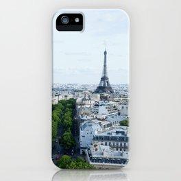 Eiffle Tower iPhone Case
