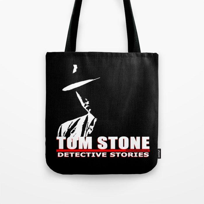 Tom Stone Detective Stories Tote Bag