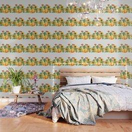 Morning Pumpkins Wallpaper
