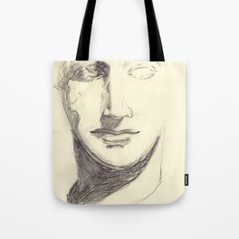 Head of a Goddess - sketch Tote Bag