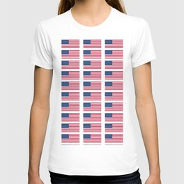 american flag 2-Usa,america,us,stars and strips, patriotic,patriot,united states,american,spangled T-shirt