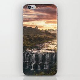 Fire & Water iPhone Skin
