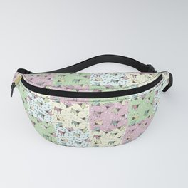 Pajama'd Baby Goats - Small Patchwork Fanny Pack