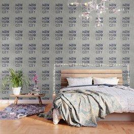 New York City Skyline Typography Wallpaper