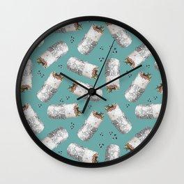 Burritomania! Wall Clock