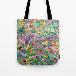 Impasto flowers Tote Bag