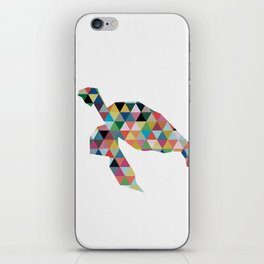 Colorful Geometric Turtle iPhone Skin