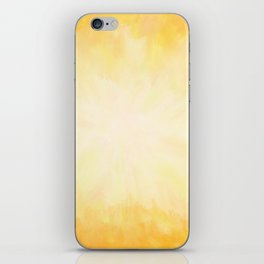 Golden Sunburst iPhone Skin