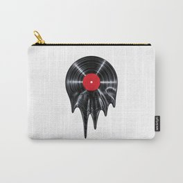 Melting vinyl / 3D render of vinyl record melting Carry-All Pouch