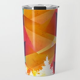 Forest made of color Travel Mug
