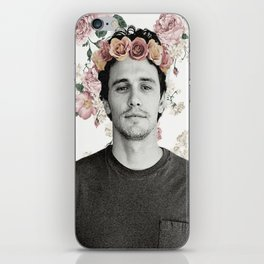 James Franco Rose Flower Crown Tumblr-Esque iPhone Skin