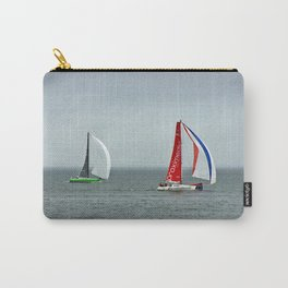 part 4 of 4 of Sailing Battle 42-56  - Transat Quebec St-Malo Carry-All Pouch