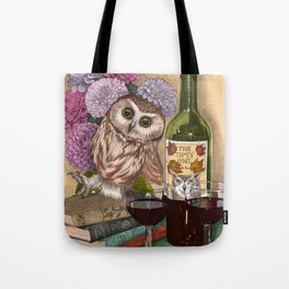The Tipsy Owl Tote Bag