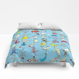 Dr. Seuss Characters Comforters