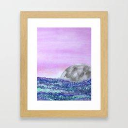 My Moon Framed Art Print