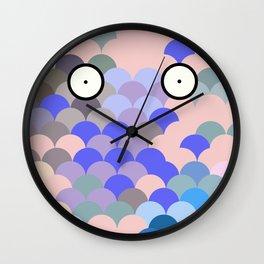 Fish Eyes Wall Clock