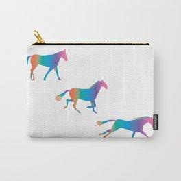A Rainbowhorse Runs_A Carry-All Pouch