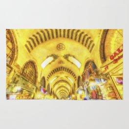 The Spice Bazaar Istanbul Art Rug