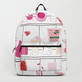 The Pink Top Shelf Backpack