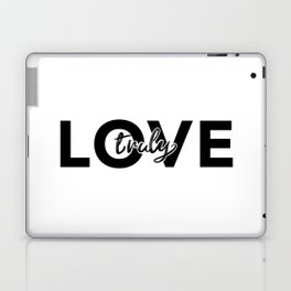 Love Truly Laptop & iPad Skin