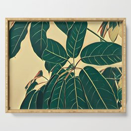 House Plant Serving Tray