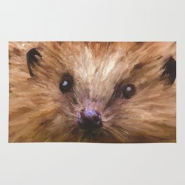 Hedgehog in the Grass Rug