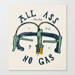 All Ass - No Gas Canvas Print