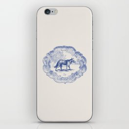 DelftWare Wolf iPhone Skin