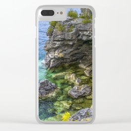 The Grotto Clear iPhone Case