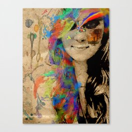 Color Found Canvas Print