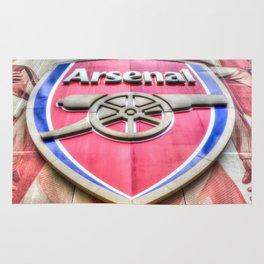 Arsenal Football Club Symbol Rug
