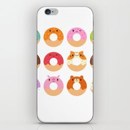 Happy Doughnuts iPhone Skin