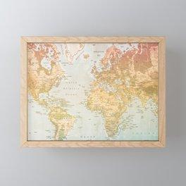 Pastel World Framed Mini Art Print