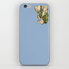 flowing out iPhone Skin