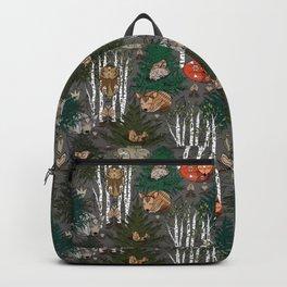 Sleepy Scandinavian Forest Backpack