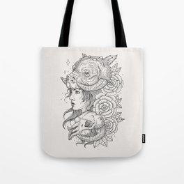 Tauntaun Girl Tote Bag