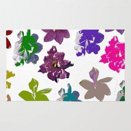 Gardenias in Color [Cecilia Lee] Rug