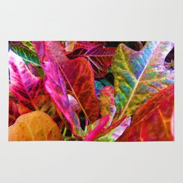 Colorful Leaves Rug