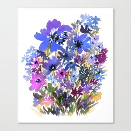 Heavenly Blues and Purples Canvas Print