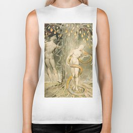 William Blake - The Temptation and Fall of Eve, 1808 Biker Tank