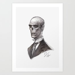 Portrait of a Ghost Art Print