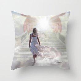 COME UP HERE - DAVID MUNOZ ART Throw Pillow