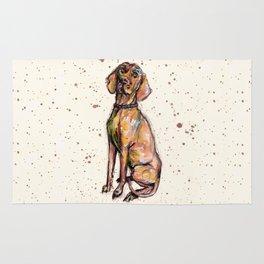 Hungarian Vizsla Dog Rug