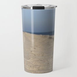 Traces in the sand Travel Mug