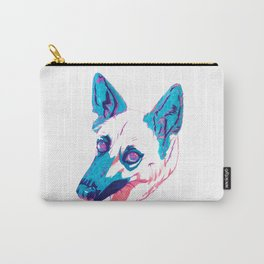 German Shepherd Husky Mix Carry-All Pouch