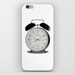 Alarm Clock iPhone Skin
