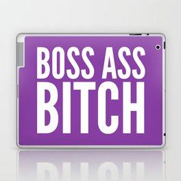 BOSS ASS BITCH (Purple) Laptop & iPad Skin