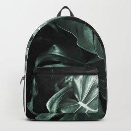 Monstera leaves, Palm Leaf Backpack