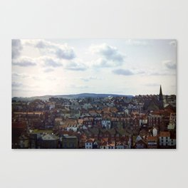 Whitby on Whitby Canvas Print